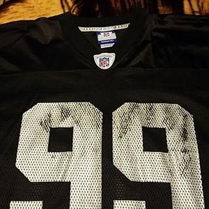 Reebok Warren Sapp Oakland Raiders Jersey